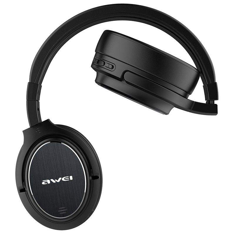 ... Awei A950BL ANC Noise Cancelling Wireless Earphone Cordless Headset  With Microphone d86284e84d1aa