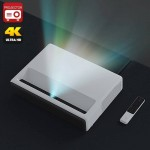 "Xiaomi Mi Laser Projector (English Version) 5000 Lumens Ultrashort Throw 150"" Screenless TV 4K HDR Dolby DTS"