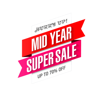 Mid year sale icon