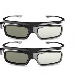 Original JMGO 3D DLP Glasses ( 2 sets) Active Shutter Rechargeable for all DLP Projectors