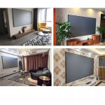 Ambient Light Rejecting ALR Pet Crystal Screen 100 inches for Ultrashort Throw Projectors
