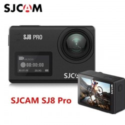 SJCAM SJ8 PRO 4K 60fps Action Camera Dual Screen Sport Camera DV EIS WiFi GPS Ambarella H22 Chipset