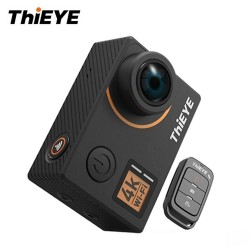 ThiEYE T5 Edge Action Camera 14MP Native 4K WiFi 2 inch TFT LCD Screen 1080P Sports Voice Commands Remote Control Ambarella A12