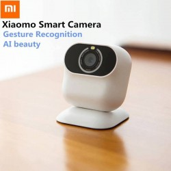 Xiaomi AI Smart Camera Gesture Recognition Shooting Camcorder Automatic Beauty Quad Core Smart App Control Camcorder