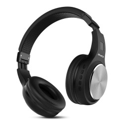 AWEI A600BL Wireless Bluetooth Stereo Sound Noise Cancelling black Over-ear Headphones with mic