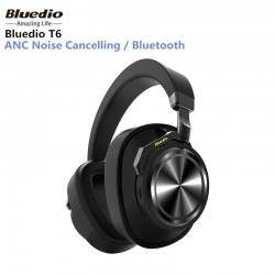 Bluedio T6 Active Noise Cancelling Headphones Wireless Bluetooth Headset with microphone for phones and music1