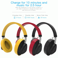 Bluedio TM Wireless Bluetooth 5.0 Headset Stereo Headphone with Mic Voice Control for music and phones support voice control