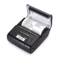HOIN HOP-E300 80mm Thermal Printer USB/Bluetooth/Thermal Cash Receipt Printer POS Instrument 2500mAh Li-ion Battery EU Plug