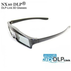 NX40 3D DLP Active Shutter glass for all DLP link Projectors