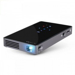 AUN Android 7.1 WIFI, Bluetooth, HDMI, Home Theater 2G+32G Mini D5S Smart Projector