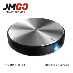 JMGO N7L 1920*1080P Full HD DLP Projector 700 ANSI Lumens Smart Beamer Android WIFI HDMI USB Support 4K Video LED TV
