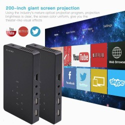 Luxcine Cine P8 Mini DLP Projector Smart Wifi Bluetooth Android for Business Office Home