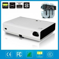 LUXCINE PTP100S LED Laser Projector Super Bright Daylight Android WiFi 3D Home Cinema Projector