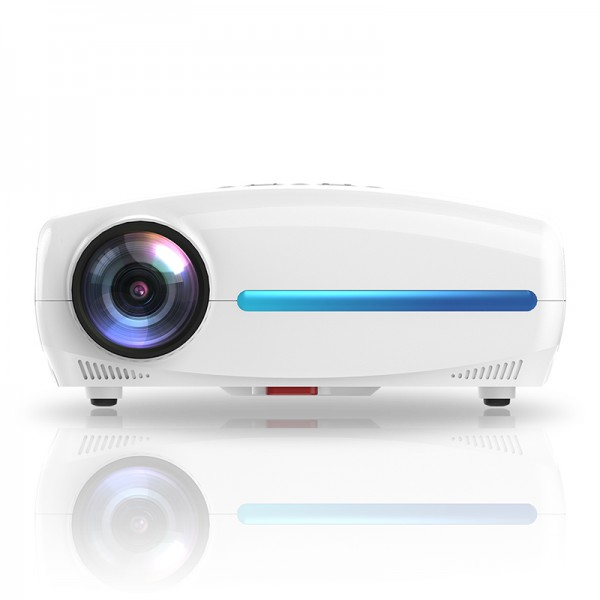 WZATCO S2 Native 1080p Full HD LED Projector - Home Theater Video Projector 5000 with HDMI USB