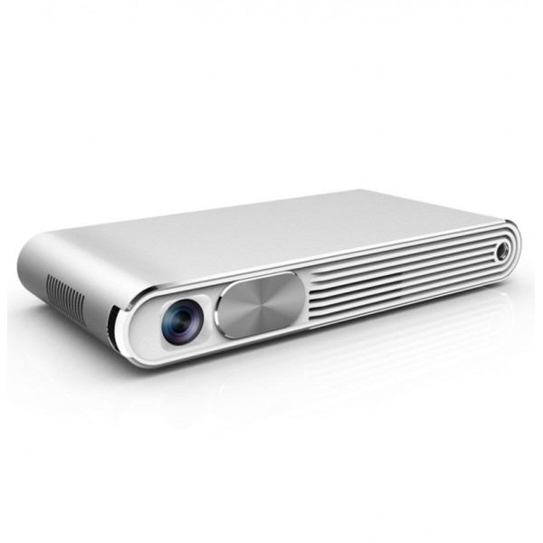 WZATCO K2 Wifi 1080P HD 3D Mini Portable 300 Ansi Lumens DLP Multimedia Projector With Remote Control