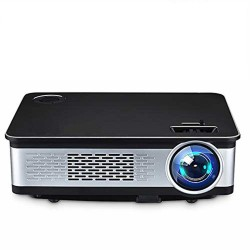 WZATCO W02 Projector- Native 1080P Full HD Projector (Black)