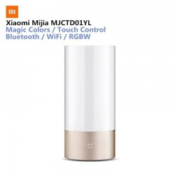 Xiaomi Mijia Mi Bedside Lamp Yeelight Smart Indoor Light 16 Million RGB Touch Control Bluetooth Wifi for Mi home APP