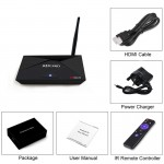 A5X PRO Android 7.1 TV BOX RK3328 Rockchip 2G 16G quad core Stream Receive Dual WiFi BT4.0 HDMI 4K Z3