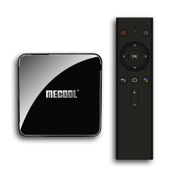 MECOOL KM3 TV Box Android 9.0 4GB RAM 64GB  Amlogic S905X2 4K Voice 2.4G 5G Wifi