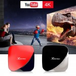 WZATCO X88 Pro Android 9.0 TV Box 4G 32G Rockchip RK3318 Quad-Core 2.4G & 5G WIFI 4K HDR Media Player