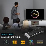 Wzatco X96S Android 8.1 TV Stick DDR4 4GB RAM 32GB ROM Amlogic S905Y2 2.4&5G Dual WIFI BT4.2 H.265 4K HD Smart TV Box