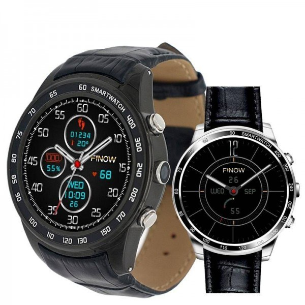 Finow Q7 plus  Android 5.1 with 0.3MP MTK6580 Ram512MB Rom8GB support 3G Smart Watch