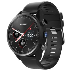 "Kospet Hope 4G Smartwatch Phone 1.39"" Waterproof Android 7.1 MTK6739 1.3GHz 3GB 32G 8.0MP Cam Built-In 620mAh Heart Rate Monitor"
