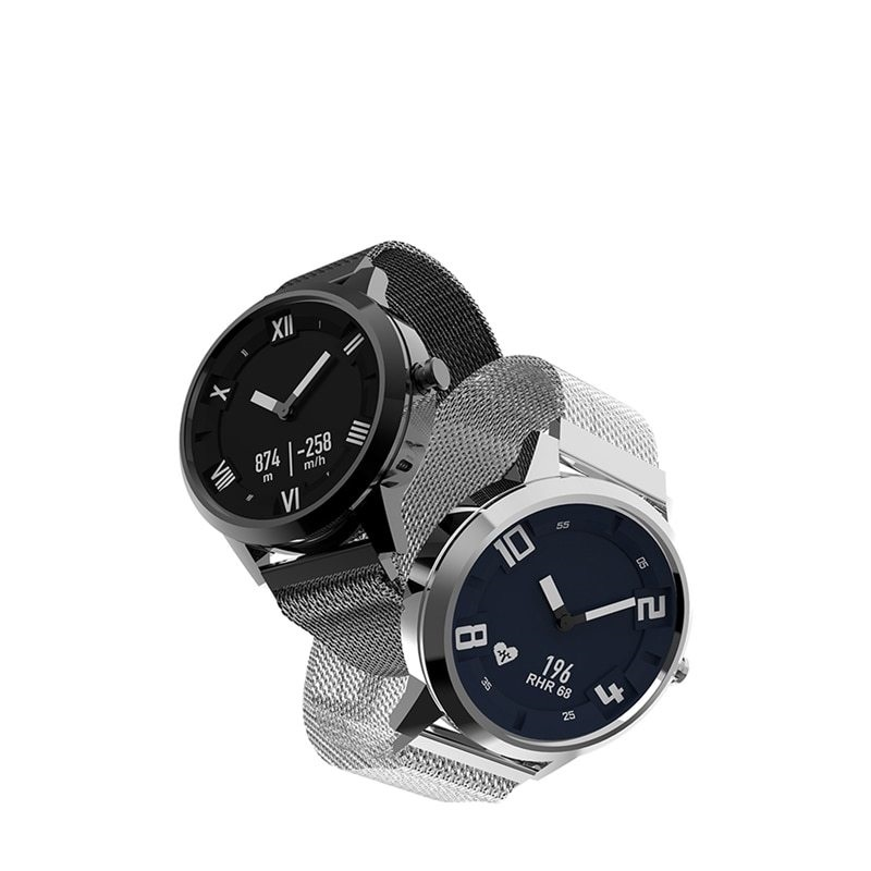 6905bd736 Lenovo Watch X Smartwatch Waterproof Milanese Strap 45 Days Standby Time 80  Meters Heart Rate Sleep Monitor Smart Watch