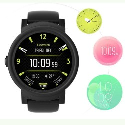 Ticwatch E Android MT2601 Bluetooth 4G ROM WIFI Music IP67 Waterproof smart watch