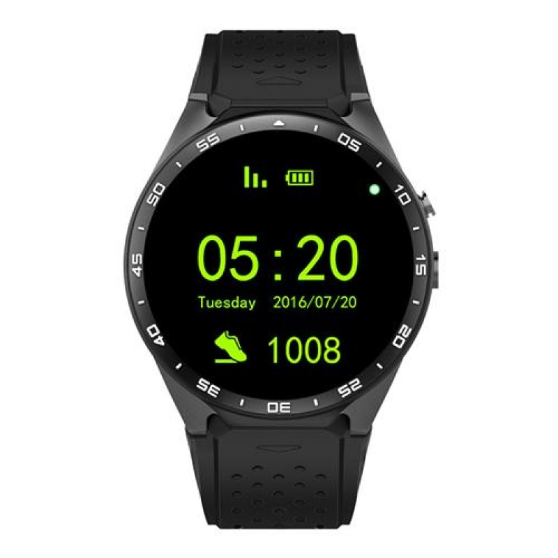 Kingwear Kw88 Pro Gps Smart Watch Unisex 1 39 Android 7 0 1gb 16gb