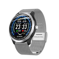LEMFO 2019 New ECG + PPG SmartWatch Men IP67 Waterproof Heart Rate Monitor Blood Pressure Smartwatch