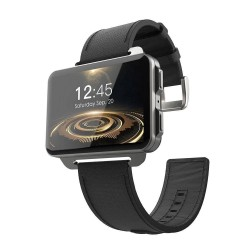 LEMFO LEM4 Pro 2.2 inch Big Screen Smart Phone Watch 1GB + 16GB with 1.3MP Camera (Black)